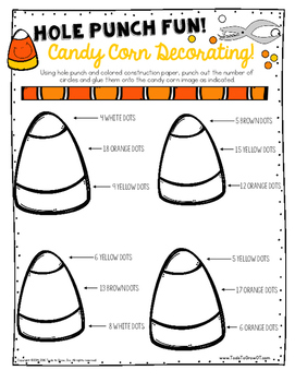 Candy Corn Activities