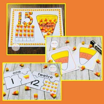 Candy Corn Activities Bundle