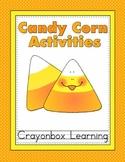 #2dollarhalloween Candy Corn Activities - Fall / Halloween