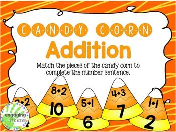 Candy Corn Addition 1-10 Freebie