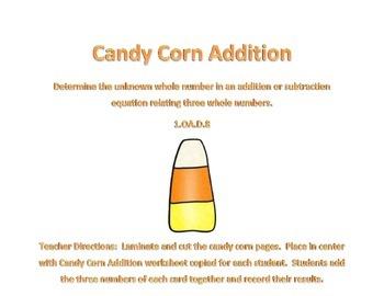 Candy Corn Addition