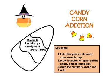 Candy Corn Addition Activity