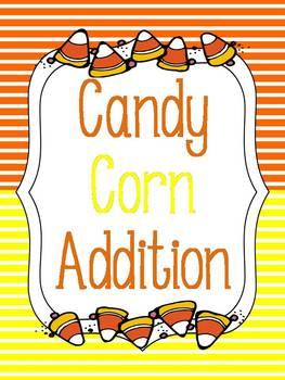 Candy Corn Addition {FREEBIE}