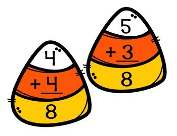 Candy Corn Addition Puzzles