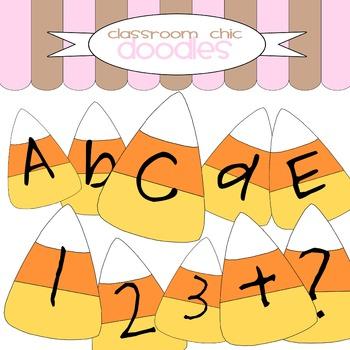 Candy Corn Alphabet