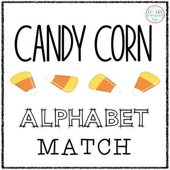 Candy Corn Alphabet Match