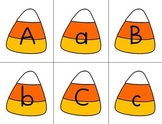 Candy Corn Alphabet & Number Cards
