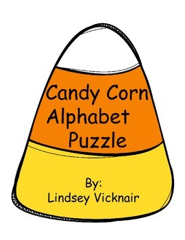 Candy Corn Alphabet Puzzle