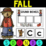 #falloween Fall Letters and Sounds Plus Phonemic Awareness