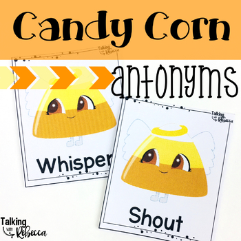 Fall/Halloween Antonym Cards and Worksheets