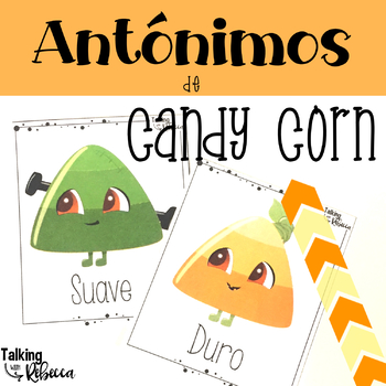 Spanish Speech Therapy Games and Activities for Antonyms