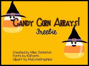 Candy Corn Arrays! Freebie