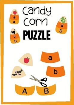 Candy Corn - Back To School - PUZZLE