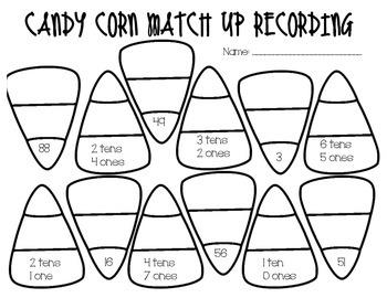 Candy Corn Base-10 Matchup