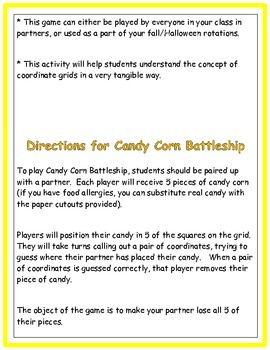 Candy Corn Battleship