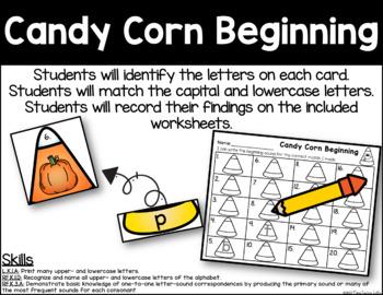 Candy Corn Beginning - Initial Sound Identification