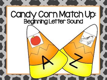 Candy Corn Beginning Sound Match Up