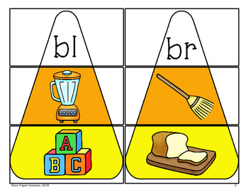 """Trick-or-Treat Blends: A """"Go Fish"""" Style Game for Emerging Readers"""