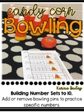 Candy Corn Bowling- Building Sets to 10