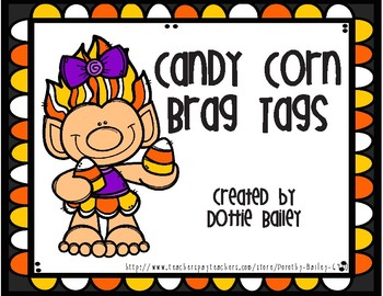 Candy Corn  Brag Tags