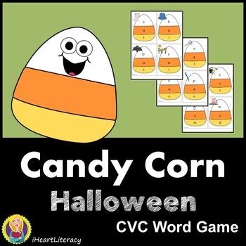 Candy Corn CVC Word Game