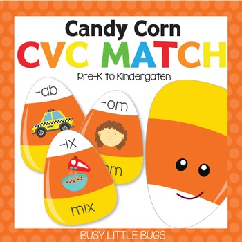 Candy Corn CVC Match