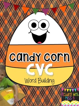 Candy Corn CVC Word Building