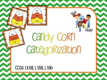 Candy Corn Categorization