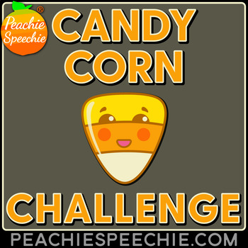 Candy Corn Challenge: 100 Repetitions Articulation Activity