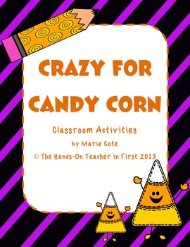 Candy Corn Class Freebie {3 fun activities}