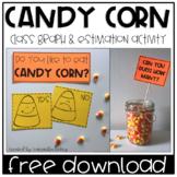 Candy Corn Class Graph & Estimation FREEBIE