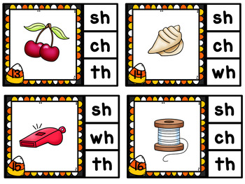 Candy Corn Clip Cards