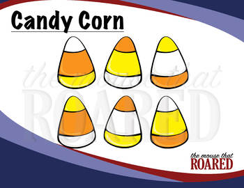 Candy Corn (Clipart) Halloween Fun!