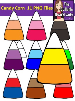 Candy Corn Clipart (Graphics for Personal and Commercial Use)