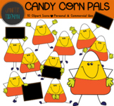 Candy Corn Clipart with Signs | Autumn, Thanksgiving, and