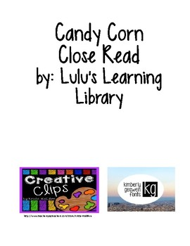 Candy Corn Close Read