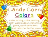"Candy Corn Colors - Color Word Activities - ""Colour"" versi"