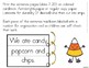 Candy Corn Commas in a Series