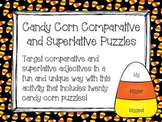 Candy Corn Comparative and Superlative Puzzles
