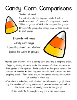 Candy Corn Comparison (A common core game of Counting)