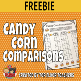 Candy Corn Comparisons - Halloween Comparing Numbers Activity FREEBIE