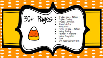 Candy Corn Composition: Rhythm, Melody & More!