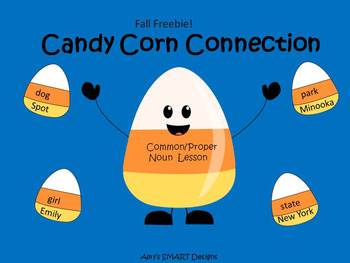 Candy Corn Connection: Common and Proper Nouns