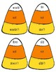 Candy Corn Contraction Matching Game, Grammar Activity, Center FREEBIE!!
