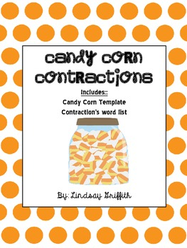 Candy Corn Contractions Art