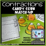 Candy Corn Contractions, Halloween, Thanksgiving