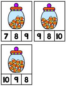Candy Corn Count & Clip
