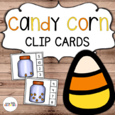 Candy Corn Count & Clip Cards (Halloween)