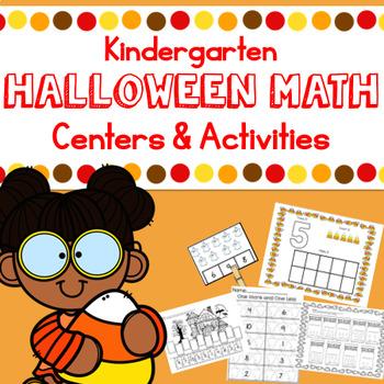 Halloween Math- Kindergarten