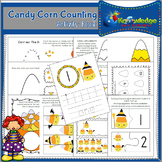 Candy Corn Counting Activity Book